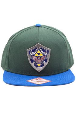 The Legend of Zelda Snap Back Cap Metal Shield