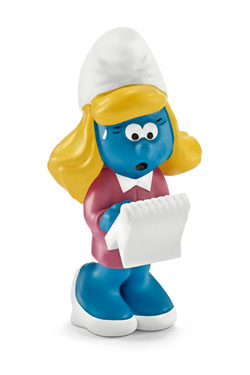 The Smurfs Figure Manager Smurfette 6 cm
