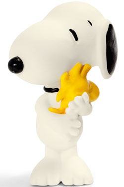 Peanuts Figure Snoopy with Woodstock 6 cm