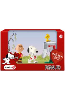Peanuts Figure 3-Pack Valentine's Day 5 cm