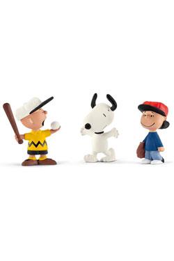 Peanuts Figure 3-Pack Baseball 6 cm