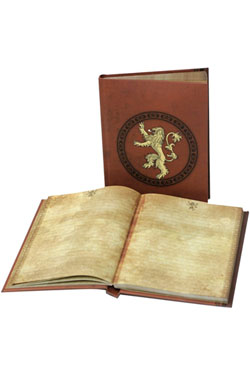 Game of Thrones Notebook with Light Lannister