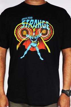 Doctor Strange T-Shirt Lightning Size L
