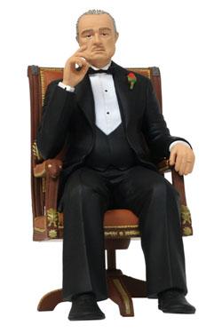 The Godfather Movie Icons PVC Statue Don Vito Corleone 15 cm