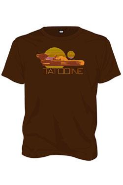 Star Wars T-Shirt Tatooine Size L