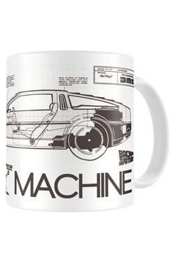 Back to the Future Mug Time Machine