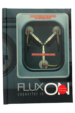 Back to the Future Notebook with Sound Flux On