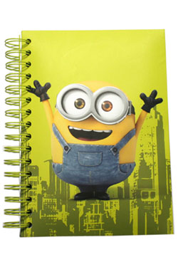 Minions Notebook with Sound & Light Up Bob
