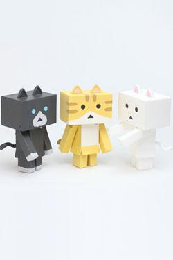 Yotsubato! Mini Figures 6 cm Nyanboard 3-Pack Sweet Set 1