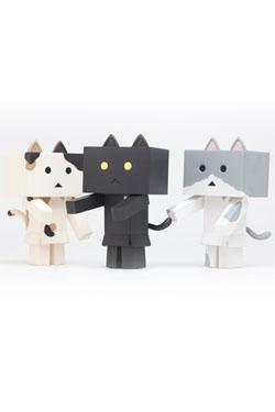 Yotsubato! Mini Figures 6 cm Nyanboard 3-Pack Bitter Set 1