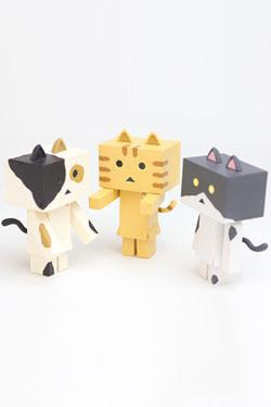 Yotsubato! Mini Figures 6 cm Nyanboard 3-Pack Mild Set 1