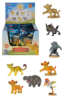 The Lion Guard Trading Figure 6 - 7 cm Display (32)