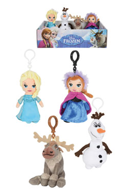 Frozen Plush Keychain 13 cm Display (12)