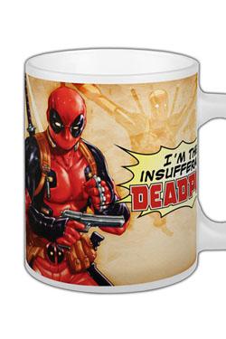 Marvel Comics Mug Deadpool Insufferable
