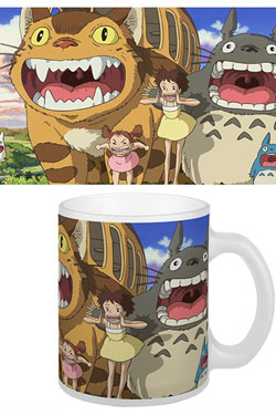 Studio Ghibli Mug Nekobus & Totoro