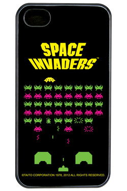 Space Invaders iPhone 4 Case