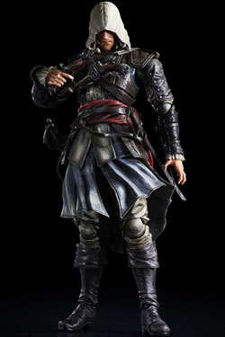 Assassin�s Creed IV Black Flag Play Arts Kai figurine Edward Kenway 28 cm