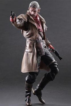 Metal Gear Solid V The Phantom Pain Play Arts Kai Action Figure Ocelot 28 cm