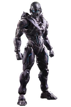 Halo 5 Guardians Play Arts Kai Action Figure Spartan Locke 27 cm