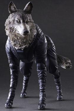 Metal Gear Solid V The Phantom Pain Play Arts Kai Action Figure D-Dog 11 cm