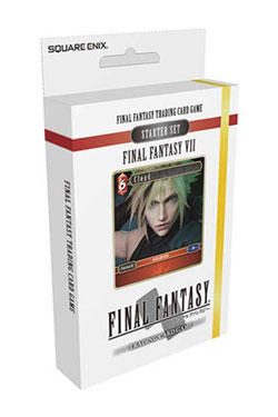 Final Fantasy VII TCG Starter Deck Display (6) *English Version*