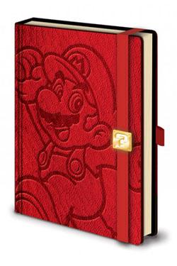 Super Mario Premium Notebook A5 Mario
