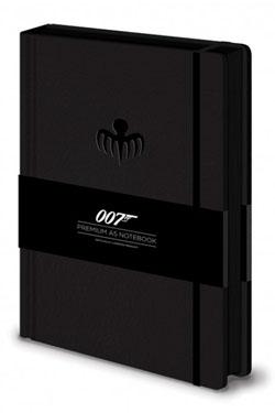 James Bond Premium Notebook A5 Spectre Octopus Logo