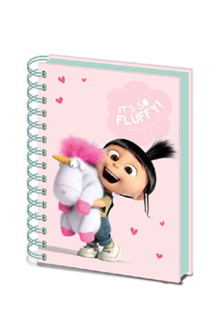 Despicable Me Notebook A5 It's So Fluffy