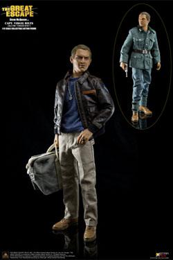 The Great Escape My Favourite Legend Action Figure 1/6 Steve McQueen Capt. Virgil Hilts Deluxe 30 cm