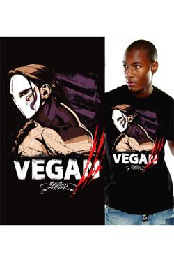 Street Fighter T-Shirt Vega Size M