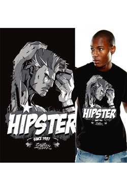 Street Fighter T-Shirt Hipster Size S