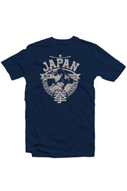 Street Fighter T-Shirt Ryu Japan Marine Size L