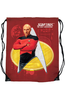 Star Trek Cinch Bag Captain Picard