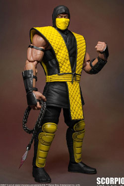 Mortal Kombat Klassic Action Figure 1/12 Scorpion 18 cm