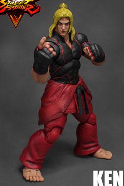 Street Fighter V Action Figure 1/12 Ken 18 cm