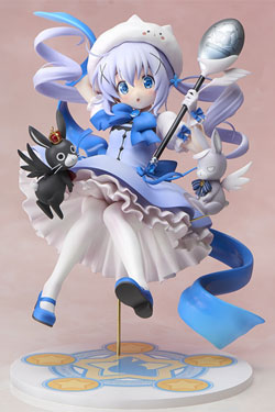 Is the Order a Rabbit PVC Statue 1/7 Magical Girl Chino 21 cm