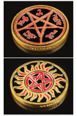 Supernatural Hunters Challenge Coin