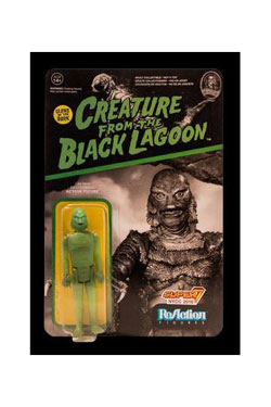 Universal Monsters ReAction Action Figure Creature from the Black Lagoon GITD Exclusive 10 cm