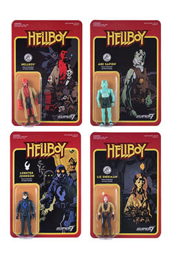 Hellboy ReAction Action Figures 10 cm Wave 1 Assortment (4)