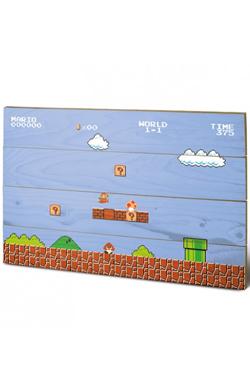 Super Mario Bros. Wooden Wall Art 1-1 40 x 60 cm