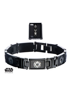 Star Wars Link Bracelet Galactic Empire Symbol