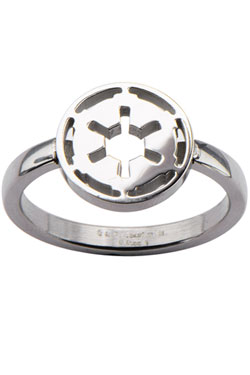 Star Wars Ring Galactic Empire Symbol  Size 08