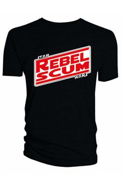 Star Wars T-Shirt Rebel Scum Size M