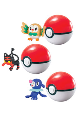 Pokemon Clip´n´Carry Poké Ball Wave D9 Assortment (6)