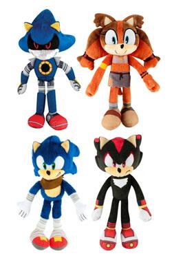Sonic Boom Plush Figures 20 cm Assortment (6)