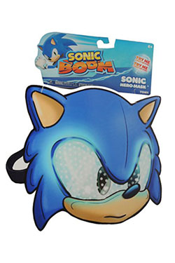 Sonic Boom Role Play Mask with Light Up Sonic 20 cm