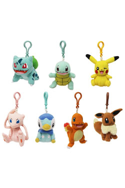 Pokemon Plush Hangers 9 cm Assortment (8)