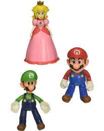 World of Nintendo Mini Figure 5-Pack New Super Mario Bros  U