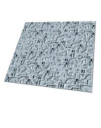 absorbe Rapidement lhumidit/é et r/ésiste aux Tapis de salet/é D-M-L 40X60cm Tapis de Porte Nemesis Gothic Text Resident Evil antid/érapant