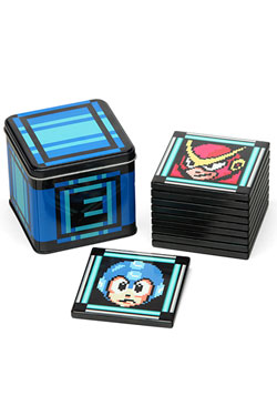 MegaMan II Coaster 10-pack Tin Box